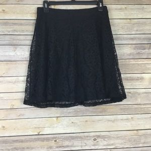 Express Lace Skirt NWT